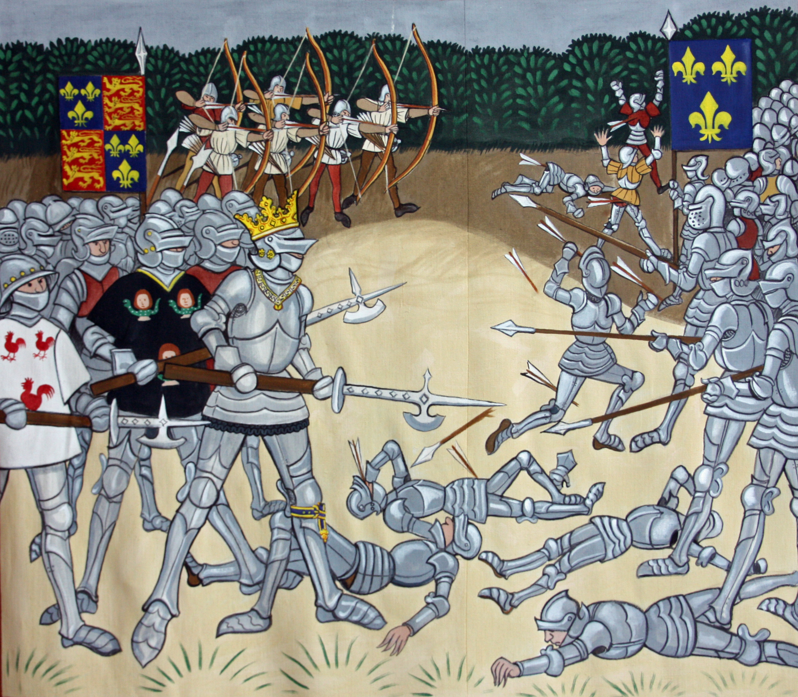 Battle Scene edited by Simon Leach