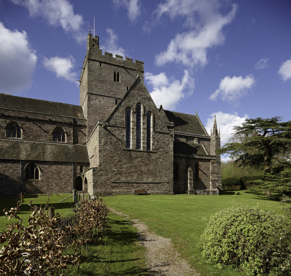 Brecon Cathedral Photo: Crown Copyright (2014) Visit Wales