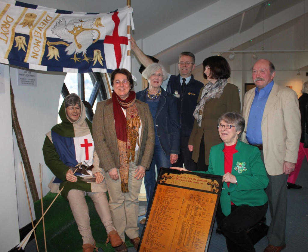 Launch of Agincourt exhibition by Professor Anne Curry