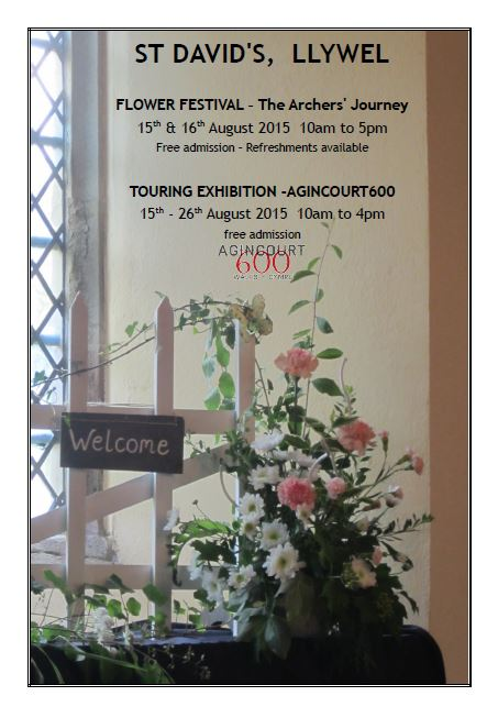 Trecastle Flower Festival 2015